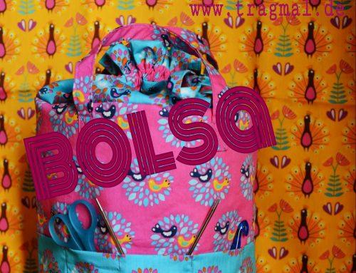BOLSA die (Strick)-Tasche kommt