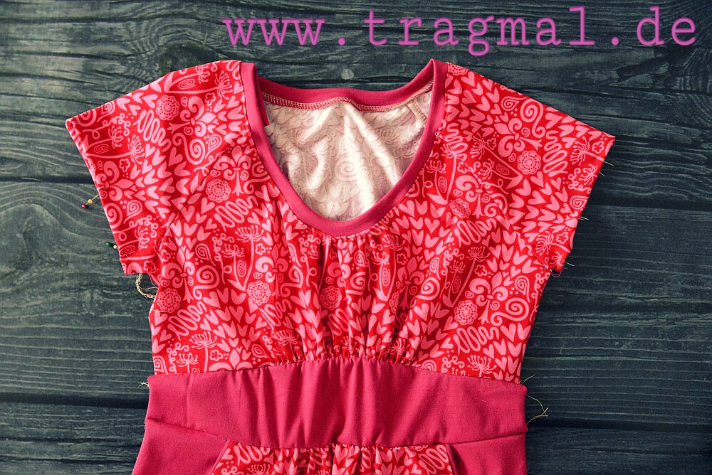 Stunning Rosy Damenkleid Ottobre