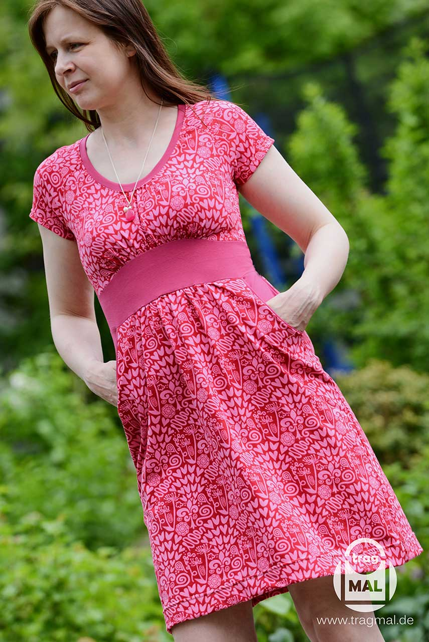 Stunning Rosy Damenkleid