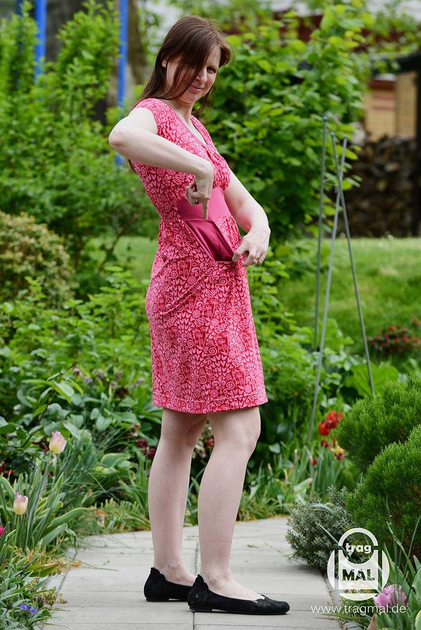 Stunning Rosy Kleid