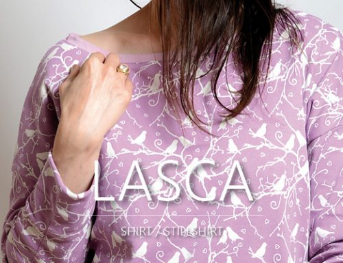 Damen-Shirt-Freebook LASCA kommt