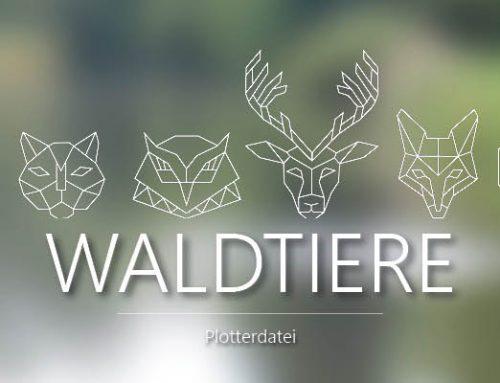 Plottserie -Wald- 6 Motive inkl. einem Freebie
