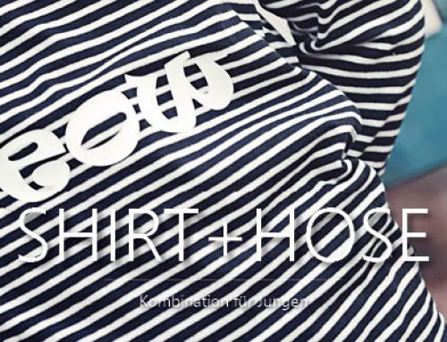 Bitte einmal grinsen – Shirt & Hose Grinsekatze