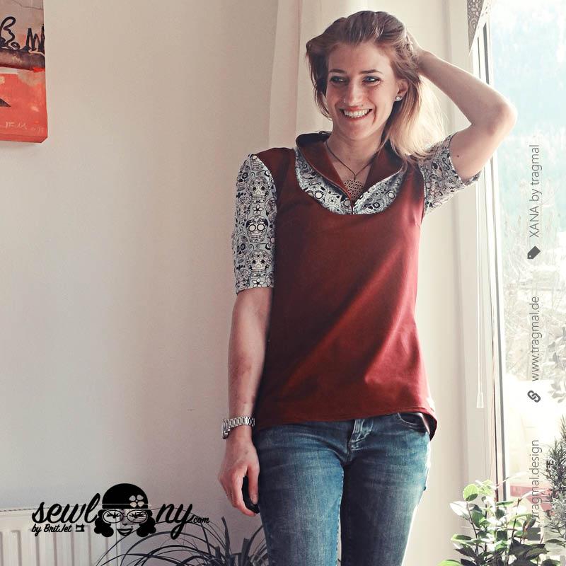 tragmal,xana,stillshirt,stillmode,shirt,schnittmuster,selbstgemacht