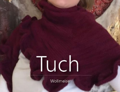 Tuch Hamburg Calling trifft Wollmeise Cassis